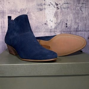 Timberland Carleton Navy blue Suede Ankle Boots